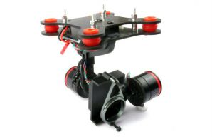 CNC 2-Axis Brushless Gimbal For GoPro Hero 3