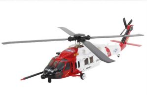 DTS F130 BH Black Hawk RC Helicopter