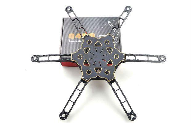 Hobby Tech :: HMF Totem Q450 Mini Hexacopter Frame Kit