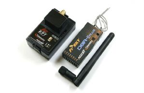 FrSky 2 Way 2.4G Radio System DFT/D8R-II Plus