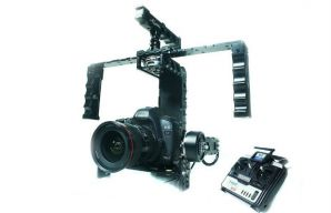 3 Axis Brushless Gimbal For DSLR Steadicam