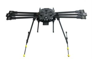 Carbon Fiber HexaCopter Kit W/Motors