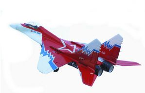 Super MiG-29 RC EDF RC JET Red Star