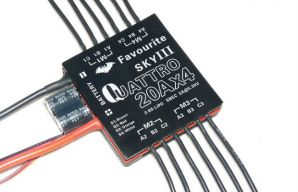 FAVOURITE Eagle Series Quattro 20A ESC