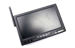"All-in-one 7"" Monitor 5.8GHz 32CH DVR Monitor"