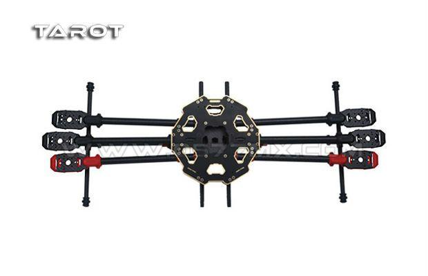 Hobby Tech :: TAROT 680PRO Foldable Hexacopter Frame Kit