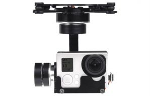 X-CAM 3-axis Brushless Gimbal for GoPro