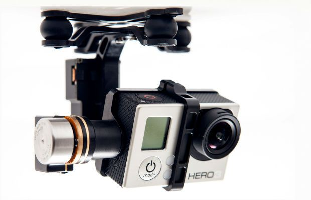 DJI Innovation 2-AXIS ZENMUSE H3-2D Gimbal Designed For GoPro Hero3