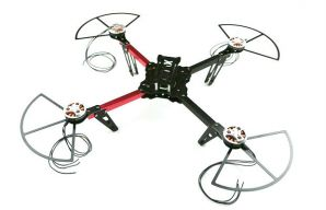Quadcopter X400 Kit + Prop Protecting Rings