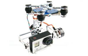 2-axis Brushless Gimbal Frame For GoPro