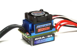 Ezrun-60A-L Brushless ESC (Sportful Race) V2