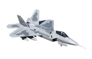 F-22 Raptor 70mm EDF RC Jet